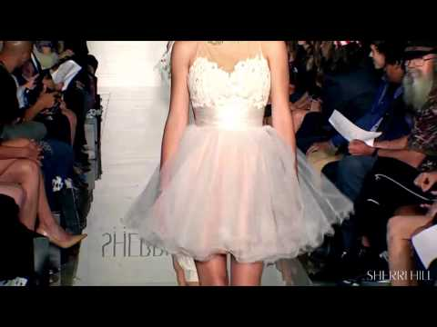 Amazing A Line Sherri Hill Wedding Guest Dress 11151