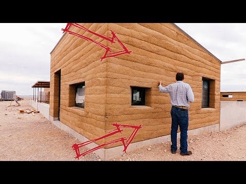 Rammed Earth : You won't Believe How They Build This!