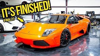 My Fast & Furious Lamborghini Murcielago Movie Car Is FINISHED!!!