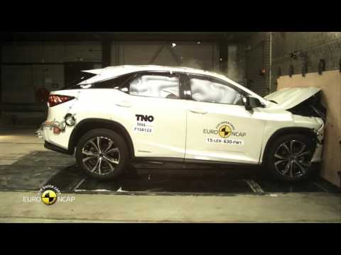 Euro NCAP Crash Test of Lexus RX 2015