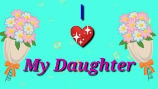 Happy daughter's day whatsapp status 💐💐