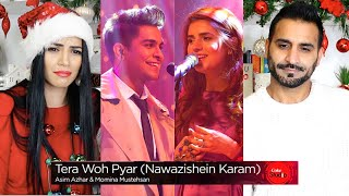 TERA WOH Pyar | Momina Mustehsan & Asim Azhar | Coke Studio 9 | Magic Flicks | Indian/UK REACTION