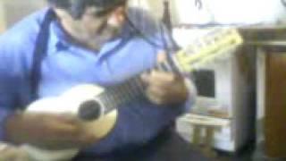 preview picture of video 'Artesano Cansino Basilio y su charango hecho por sus propias manos (Sgo del Estero-Col. Dora)'