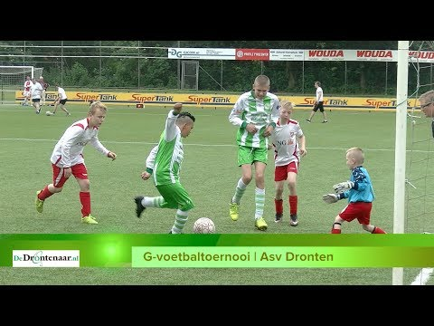 Zelfs twee ploegen uit België doen mee aan G-voetbaltoernooi bij Asv Dronten