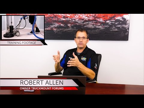 Online Carpet Cleaning Training (and other services) PLUS Video ...