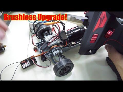 What Brushless Motor Upgrade for WPL D12??? - Banggood