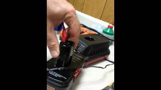Resuscitate Craftsman 19.2V NiCa battery