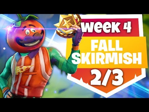 WEEK 4 FALL SKIRMISH 2/3