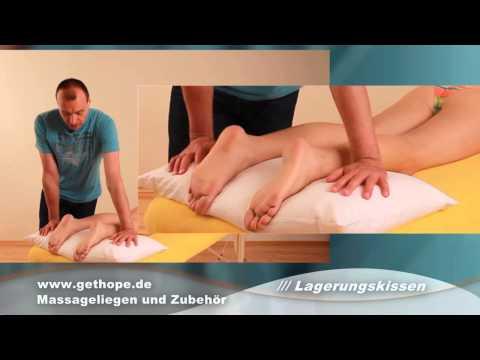 Lagerungskissen für die Beine und für die Seitenlagerung