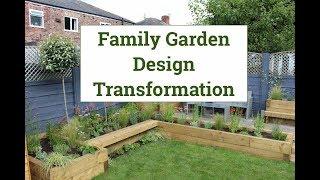 Family Garden Design Transformation