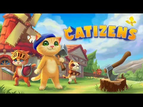 《喵星人》首度曝光影片 培養獨特個性貓咪、打造貓咪村莊 STEAM免費試玩