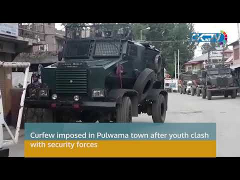 Curfew imposed in Pulwama town after youth clash with security forces