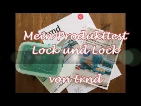 Produkttest Frischhaltedose Lock & Lock von trnd