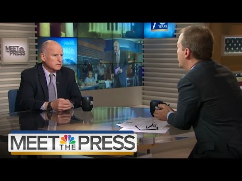 Gov. Jerry Brown: Your Name 'Going To Be Mud' If You Support AHCA | Meet The Press | NBC News