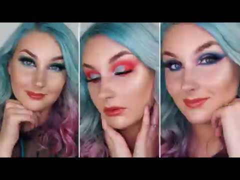 3 Different Eye Looks with one Eyeshadow Box - Rainbow Haze!