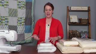 Different Types of Quilt Batting