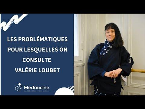 Les PROBLÉMATIQUES pour lesquelles on consulte Valérie LOUBET