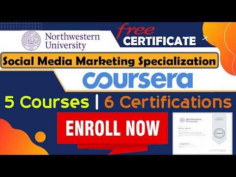 Social Media Marketing Specialization Northwestern University and ...