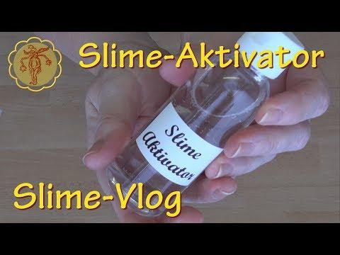 Slime-Vlog: Slime-Aktivator mit Kontaktlinsenlösung und Natron