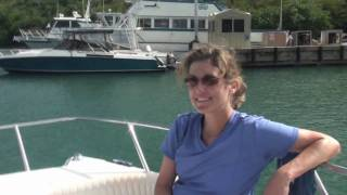 preview picture of video 'St John USVI Boat Charter and Snorkel  Day Trip to the BVI with The Amicis'