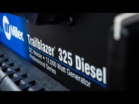 Обзор дизельного агрегата Miller Trailblazer 325X