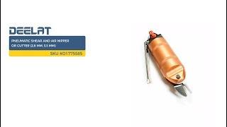 Pneumatic Shear and Air Nipper or Cutter (2.8 mm, 3.3 mm)      SKU #D1775585