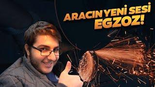 ARACIN YENİ SESİ EGZOZ! - Sanayi Günlükleri #4