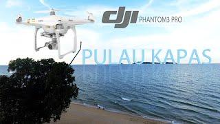 Pulau Kapas (dari kejauhan) shot by DJI Phantom 3 Pro Drone -Lokasi Marang, Terengganu, Malaysia