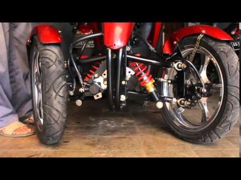 Video Modifikasi Motor Roda Tiga, Liputan Jogja TV