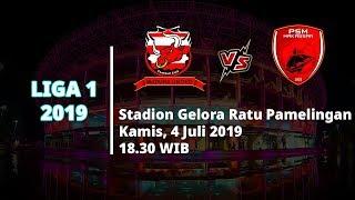 Jadwal Pertandingan dan Siaran Langsung Liga 1 2019 Madura United Vs PSM Makassar, Kamis (4/7)