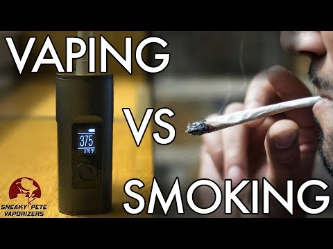 Vaping vs Smoking  | 10 Reasons to Switch to Vaporizing | Sneaky Pete's Vaporizer Reviews