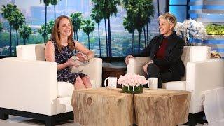 Ellen Meets a Giving Teacher
