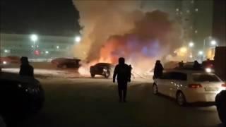 Пожар Тюменский-3 утро 21-12-16
