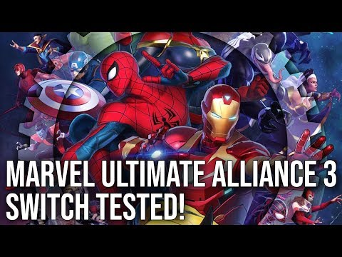 Marvel Ultimate Alliance 3 on Switch Tested! Complete Tech Breakdown