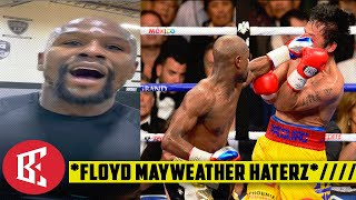 FLOYD MAYWEATHER EXPLAINS MANNY PACQUIAO FIGHT & WHY ITS NEVER GOOD ENOUGH