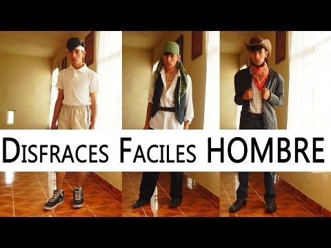 DISFRACES FÁCILES PARA HOMBRE | FÁCILES Y RAPIDOS | DALUXS