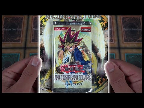 CLASSIC YuGiOh 2004 Ancient Sanctuary Booster Pack Opening & Review! KAIBA!!