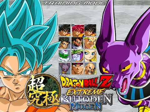 Dragon Ball Z Extreme Butoden Mugen - BETA 1 #Mugen