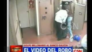 C5N EL VIDEO DEL ROBO MILLONARIO