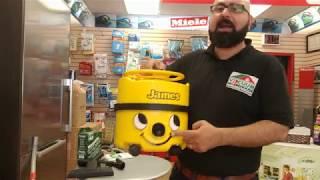 Numatic James Vacuum Cleaner Demo and Review- Vacuum Warehouse