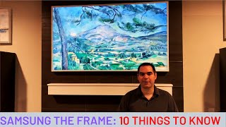 10 things you should know about Samsung The Frame TV