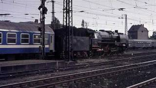 preview picture of video 'Steam Locomotives in East Germany and Austria 1976'