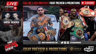 ☎️Angel Garcia Live On Danny Garcia vs Crawford, Spence Jr. and Redkach in WBC Title Eliminator🔥