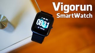 Vigorun Smart Watch (Deutsch) - Smart Watch für unter 40 Euro im Test