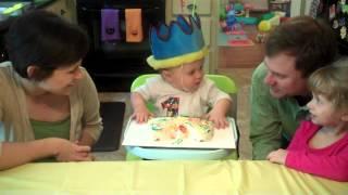 Matthews 1st Birthday Very Hungry Caterpillar Party!