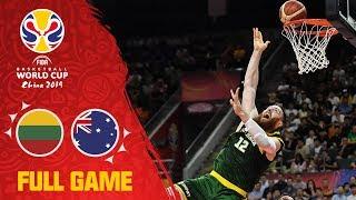 Aron Baynes shinned for Australia v Lithuania - Full Game - FIBA Basketball World Cup 2019