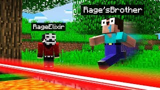 TROLLING My Little Brother in Minecraft Pocket Edition - REALMS EP21