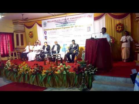Pallavan Engineering College video cover3