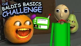 Annoying Orange - Baldi's Basics Challenge