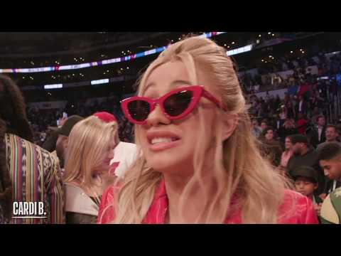 Cardi B, Chance the Rapper, Kevin Hart & Many More Celebrities Take In 2018 NBA All-Star!!!